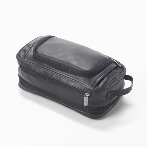 Clava Leather Expandable Toiletry Case (Vachetta Cafe)