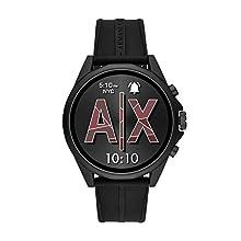 Armani Exchange Smartwatch Pantalla táctil para Hombre de Connected con Correa en Silicona AXT2007