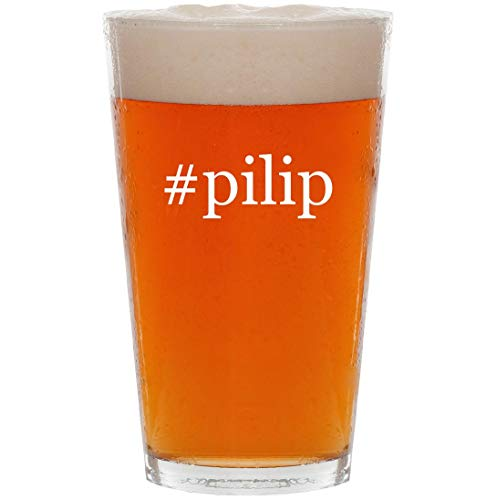 Price comparison product image #pilip - 16oz Hashtag Pint Beer Glass
