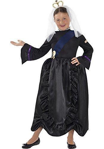 [Fancy Me Little Girls' Horrible Historie Queen Victoria Victorian Era Monarch Royalty 4-6 Years] (Victorian Era Womens Costumes)