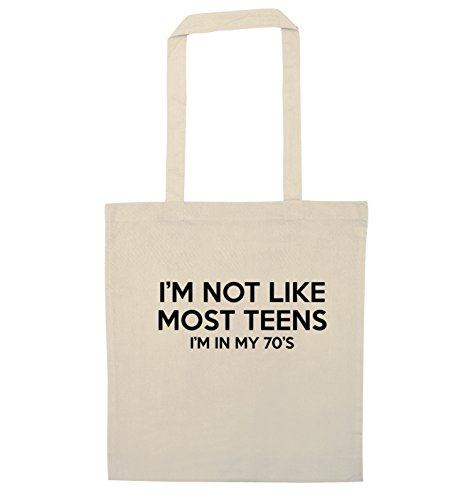 Not I'm Bag Creative Like Tote Teens Most Flox My In Natural 70'S AqptUaxnw