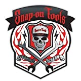 automotive tools snap on - Forged Steel Skull Decal snap-on tools
