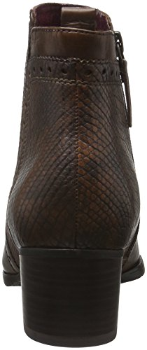 Tamaris Women 25328 Short Boots Brown (pettine Moscato 354)