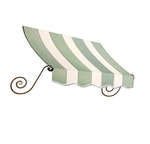 Awntech 8' Charleston Window (Awntech 8-Feet Charleston Window/Entry Awning, 31 by 36-Inch, Sage/Linen/Cream)