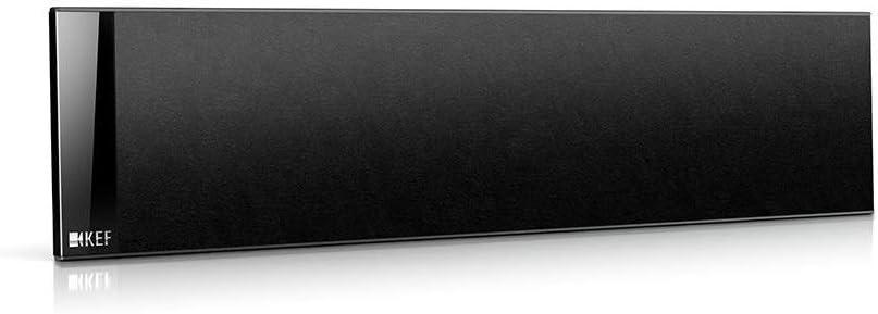 KEF T301C Center Channel Speaker - Black (Single)