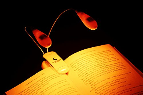 SomniLight Rechargeable Amber Book Light by SomniLight