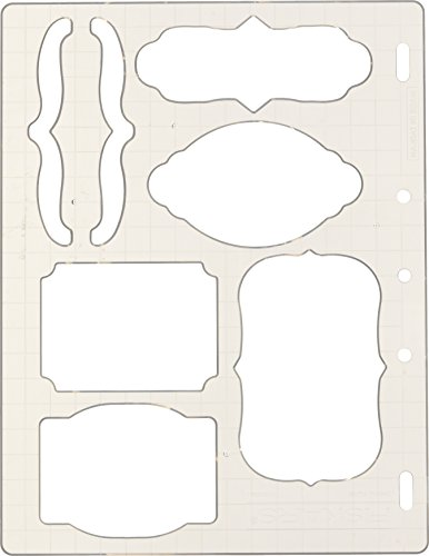 (Fiskars 01-005266 Bracket and Journal Shape Template, Color May Vary)