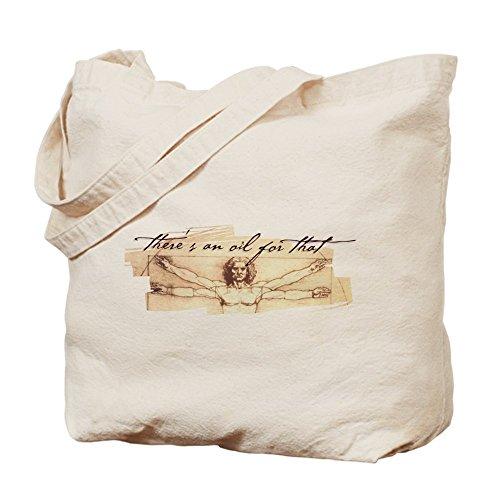 CafePress–hay un aceite para T...–Gamuza de bolsa de lona bolsa, bolsa de la compra
