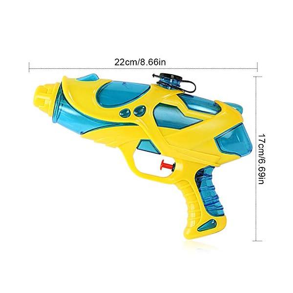Pistole ad Acqua Giocattolo 2 PCS Pistola Ad Acqua 200ml Pistola Giocattolo Giocattoli Estivi per Bambini Squirt Guns… 3 spesavip