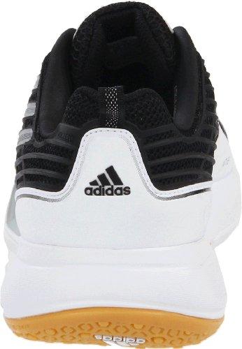 Noir Volleio Mã©tallisã© Intã©rieur Silver metallic Black argent Volley M 9 Chaussures White Blanc running Adidas Us xRdYwIqEI