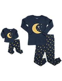 Kids & Toddler Pajamas Matching Doll & Girls Pajamas 100%...