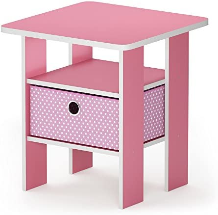 FURINNO Andrey End Table Nightstand