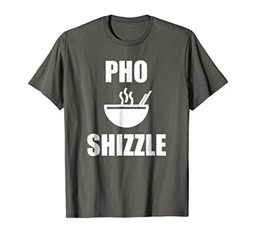 Mens Pho Shizzle T Shirt | Hip Hop T Shirt With Funny Sayings XL (Funny Halloween Sayings And Phrases)