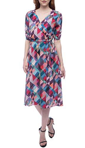 Bobeau Emory Geo Print Dress