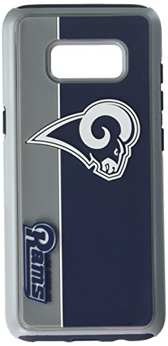Forever Collectibles Samsung Galaxy S8 Dual Hybrid Bold Case - NFL Los Angeles Rams