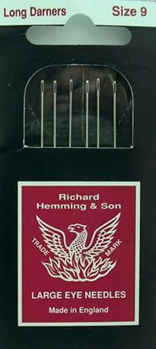 Richard Hemming Needles Made in England Sharps Size 7