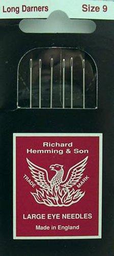 Richard Hemming Long Darners Sewing Needles Pkg of 5 ()