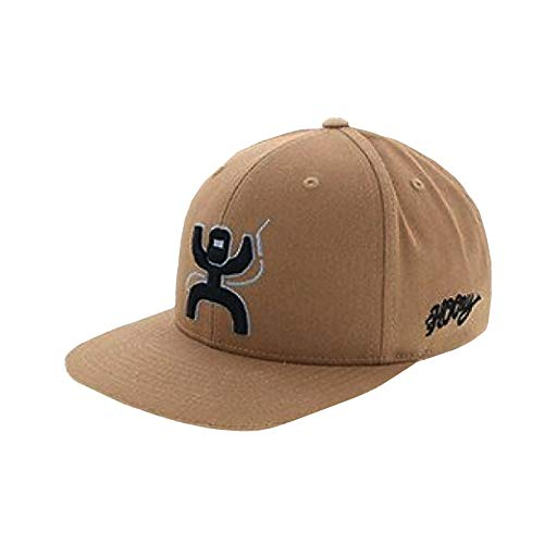 (HOOey Arc Adjustable Snapback Hat (Tan))