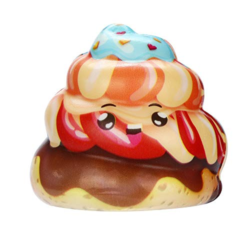 BBTshop Squishies Kawaii Cream Cake Poo Slow Rising