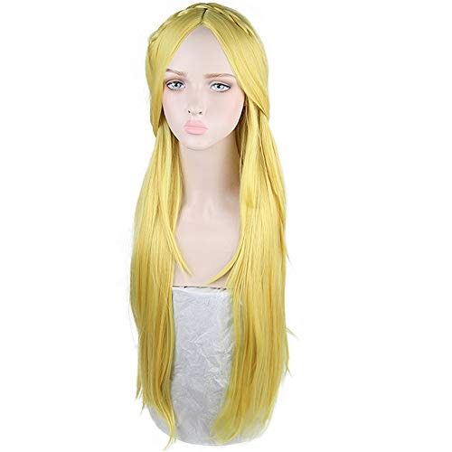 magic acgn Long Straight For Women Cosplay Wig Game Hair Halloween Wig