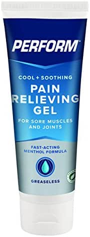 Perform Pain Relief Gel for Muscle Soreness, Post-Workout, Aches, Pains and Arthritis