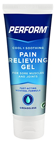 (Perform Cooling Pain Relief Gel For Muscle Soreness, Post-Workout Aches, Joint Pain, Arthritis, and Back Pain, Non-NSAID Pain Reliever for Cold Therapy, Cryotherapy Topical Analgesic, 4 oz. Tube)