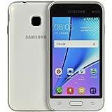 "Samsung J1 MINI - Smartphone de 4"" (Quad Core, RAM de 1 GB, memoria interna de 8 GB) blanco"