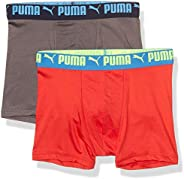 PUMA Boys Performance Boxer Brief Boxer Briefs