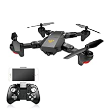 Koeoep RC Quadcopter Drone with 720P HD Camera,Air Pressure Altitude Hold & Rolls Headless Gravity Sensor Helicopter