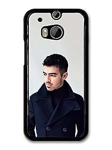 AMAF ? Accessories Joe Jonas Black Coat Jonas Brothers case for HTC One M8 by runtopwell