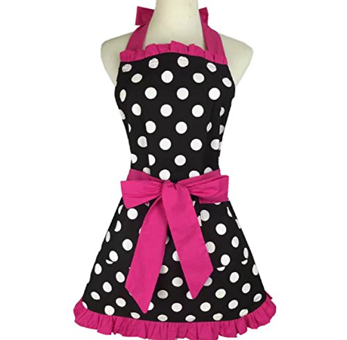 SMARTitns Aprons for Women Retro Vintage Aprons, Cooking Kit