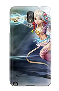 Christmas Gifts Premium Galaxy Note 3 Case - Protective Skin - High Quality For The Beautiful Girl 5295265K22276923