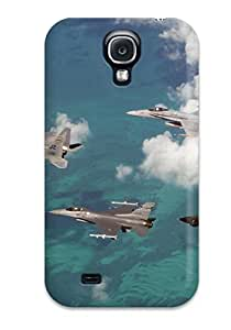 Durable Defender Case For Galaxy S4 Tpu Cover(f16 Military)