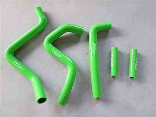 Silicone Radiator Hose Kit for Kawasaki KX250 1994-2002 94 95 96 97 98 99 00 01 02 (GREEN)