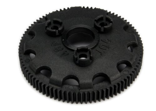 Traxxas 4690 Spur gear, 90-tooth (48-pitch) (for models with Torque-Control slipper - Traxxas Spur Gear 48p