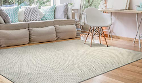 ements Collection Air Rug, Off White, 8 10-Feet ()