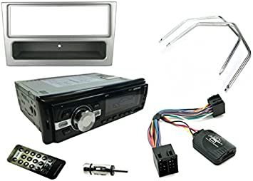 Vauxhall Corsa C 2000-2004 SONY Car Stereo Radio Mechless MP3 AUX Kit Silver