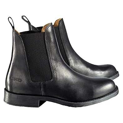 Horze Classic Jodhpurs Unisex Pull On Boots - Black