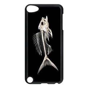 Custom Fishbone Design Plastic Case Protector For Ipod Touch 5 5th Generation