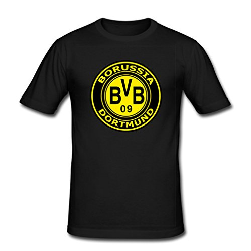 HJGBEDS Borussia Dortmund BVB 09 Logo Boy Mens T-Shirt Large Black