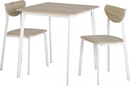 Small Kitchen Table And Chairs Uk Riley small kitchen dining table chair set in light oak effect riley small kitchen dining table chair set in light oak effect veneerwhite workwithnaturefo