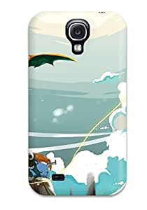 High Quality Shock Absorbing Case For Galaxy S4-pokemon