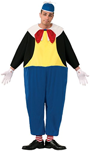 Tweedle Dee And Tweedle Dum Fancy Dress Costume (Forum Novelties Men's Tweedle Dum Costume, Blue/Black/Yellow, Standard)