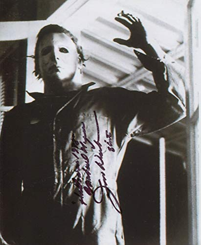 Jim Winburn Signed John Carpenter Halloween 1978 Michael Myers 8x10 COA -
