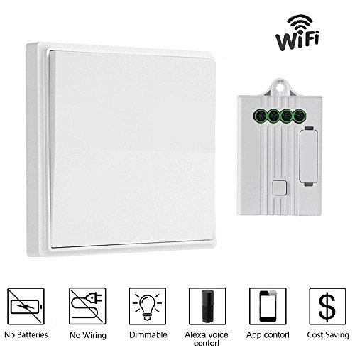 Swell Kobwa Wireless Lights Switch Kit No Battery No Wiring Lights Wiring 101 Capemaxxcnl