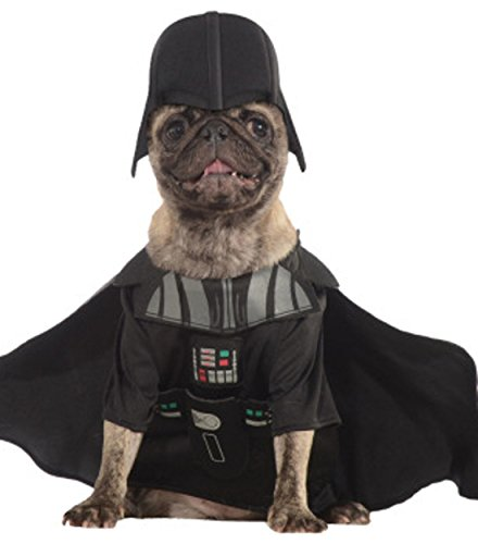 Rubie's Star Wars Darth Vader Sith Dog Pet Costumes Size Large 22
