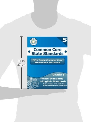 Math Worksheets common core 4th grade math worksheets : Fifth Grade Common Core Assessment Workbook: Common Core State ...