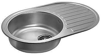 Oval Edelstahl Kuchenspule Rundspule Waschbecken