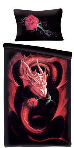 linge de lit dragon Spiral   Linge de lit   motif Dragon Rose: Amazon.fr: Cuisine & Maison linge de lit dragon
