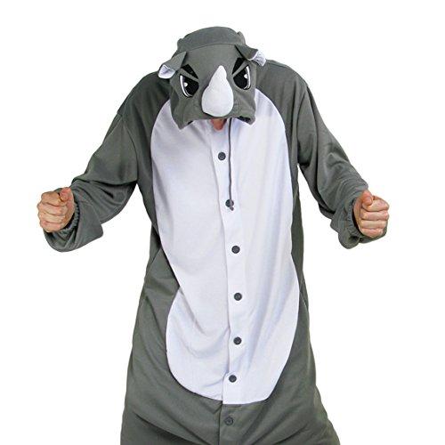 Sweet Holic Rinoceronte Disfraz o Pijamas de una Pieza | Kigurumi Cosplay Onesie
